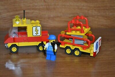 Lego Vintage Town Set Number 6671, Utility Repair Lift,