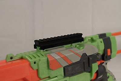 3D Printed – Nerf to Picatinny Top Rail Mount for Nerf Vortex Praxis Gun