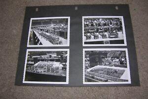 8 B&W Photos Miniature Circus at Gathering