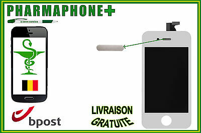 TOUCH SCREEN DISPLAY LCD RETINA IPHONE 4 WHITE A1349 / A1332