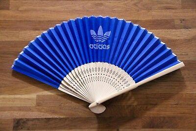 Ultra Rare adidas originals Japanese Folding Fan Promo Novelty Genuine article