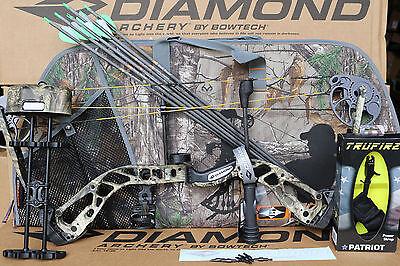 2018 Diamond by Bowtech Infinite Edge SB-1 Camo BOW Package RH 7-70# CAMO CASE