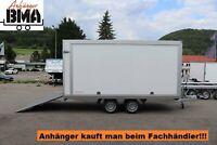 Kofferanhänger Hapert Sapphire Hochlader 2700kg 405x180x180 Auffa Baden-Württemberg - Tannheim Vorschau