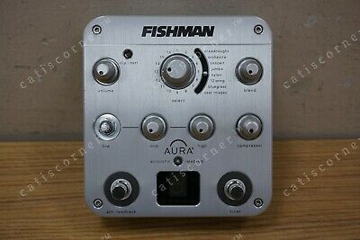 FISHMAN AURA SPECTRUM DI ACOUSTIC GUITAR EFFECTS PEDAL PREAMP EQ (NO CABLES!!)