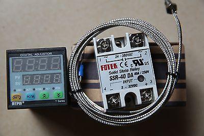 Fc Manual Auto-tuning Pid Temperature Controller Td4-snr K Sensor40a Da Ssr