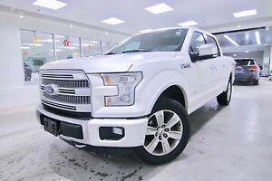 2015 Ford F-150 PLATINUM  SUPERCREW, ONE OWNER, CLEAN CARPROOF,