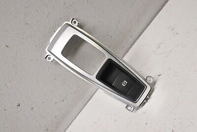 P200303 2007-2013 BMW X5 Parking Brake Switch with Gear Shifter Bezel Trim OEM