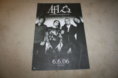AFI - A Fire Inside DecemberUnderground Store Promo Poster 20 x 30 - R1216
