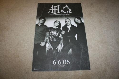 AFI - A Fire Inside DecemberUnderground Store Promo Poster 20 x 30 - R1216