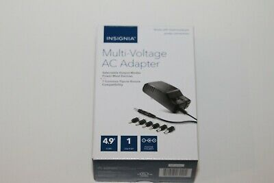 Insignia Universal Multi-Voltage AC Adapter NS-AC1200 w/ 7 Common Tips NEW