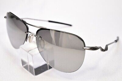 OAKLEY TAILPIN OO4086-07 SUNGLASSES WITH NEW POLARIZED TITANIUM MIRRORED LENSES