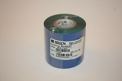 Brady R4400g Y37645 Naed 55730 Thermal Transfer Printer Ribbon Roll Green