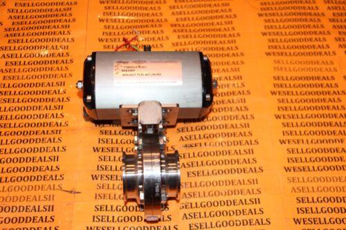 Flowserve B063S07 Pneumatic Valve Actuator W/ 1.4404 DN2 PN10 SS Butterfly New