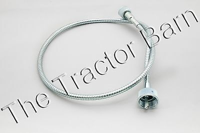 Metal Proofmeter Tachometer Cable Ford Tractor Naa Jubilee B9nn17365b Ar60877
