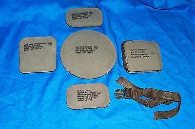 "5 Pads for MICH Advanced Combat Helmet US USGI Army Pad Set Kit ACW ¾"" Marine"