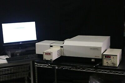 Shimadzu Uv-2101pc Research Uv-vis Spectrophotometer W.temp. Biotech Nice