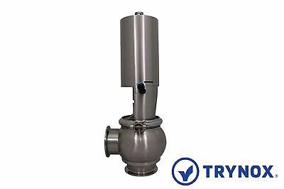 Trynox Clamp Sanitary Stainless Steel Ball Valve 316L 1.5 Sanitary Fitting