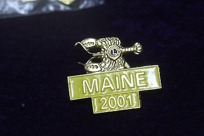Lions Club Pins Maine 2001