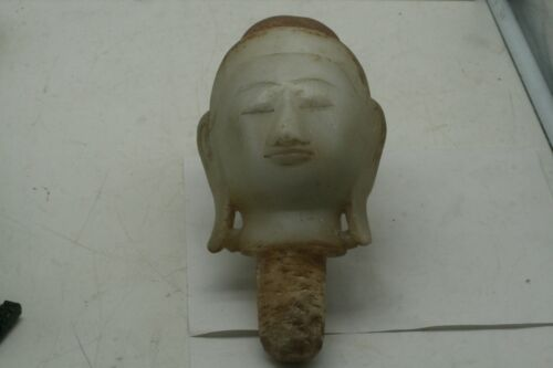 Large Marble Rare Buddha Head Extremely Rare
