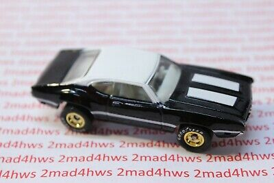 1996 Hot Wheels PACKAGE PULL  60's MUSCLE 4 CAR SET black OLDS 442 W-30 rrchgd