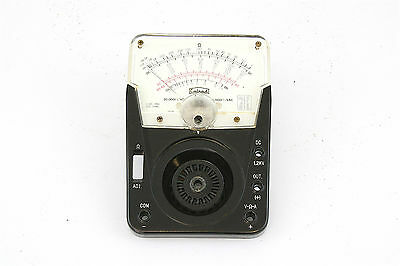 Vintage Calrad Tk-301 Analog Multimeter Replacement Face Plate And Meter - Nos