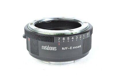 MetaBones Nikon to Sony E - Mount Adapter #J02924