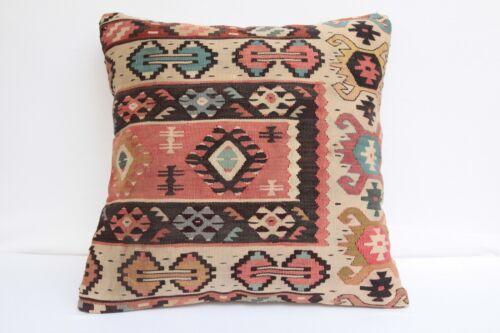 killim pillow,Decorative pillow,vintage pillow,Kilim pillow,20x20 kilim pillow