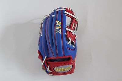 Wilson Baseball Glove WTA1K-O1787 11.75 inch Blue Red Infielders RHT