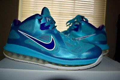 ad39a4a08e96 Nike Lebron 9 Low Summit Lake Hornets Size 8