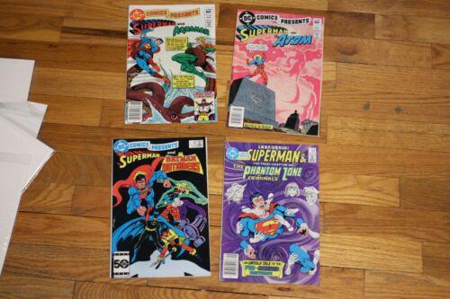 DC COMICS PRESENTS LOT Superman AND 48 51 83 97