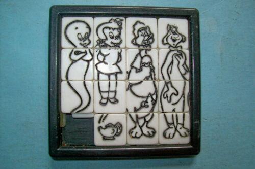 Vintage 1960s Casper the Friendly Ghost Sliding Tile Puzzle by Roalex