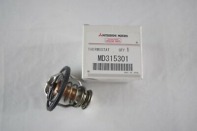 Genuine Mitsubishi Galant Eclipse Outlander Lancer Expo Thermostat MD315301 OEM - Mitsubishi Thermostat