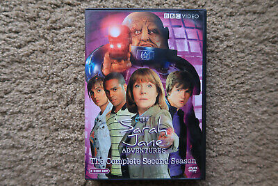 The Sarah Jane Adventures - Complete Second Season - Doctor Who - 3 DVDs