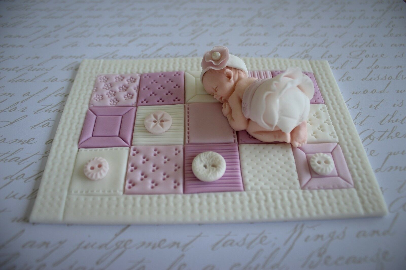 Fancy Fondant Cake Decorations