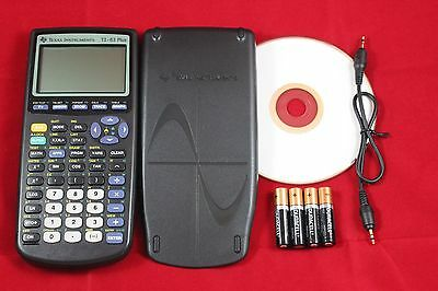 New TI-83 Plus Graphing Calculator Texas Instruments TI83 +