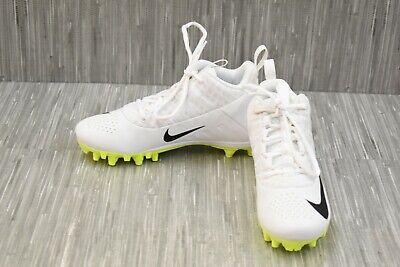 White//Silver Kid/'s Nike Speedlax 4 BG Lacrosse Cleats NIB!