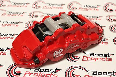 AP RACING 08-13 BMW M3 RADI-CAL FRONT 6-PISTON J-HOOK BIG BRAKE KIT-RED CALIPERS
