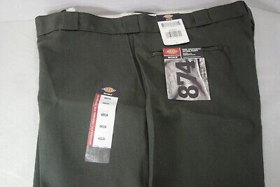 Dickies 874 Mens Work Pants Original Fit Flat Front Twill Size 40 x 32 NEW NWT