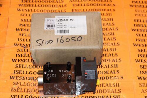 SCA Schucker 0502.0190 Servo Valve New