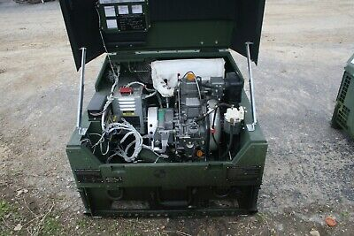 2008 Mep831a 3kw Diesel Quiet Generator 120 240 Ac 60hz Military Only 15 Hours