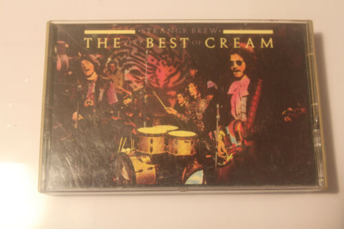 Strange Brew The Very Best Of Cream (cassette)  1983