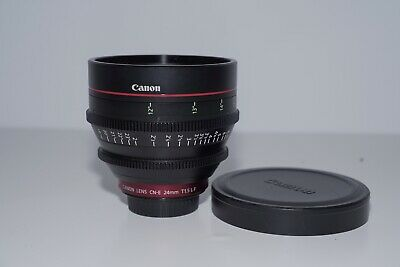 Canon CN-E24mm T1.5 FP X Wide Angle Lens - Black