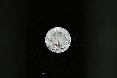 GIA .46ct Round Loose Diamond F color, SI1 clarity 4.67-4.70 x 3.19mm