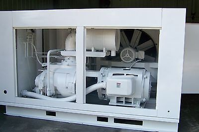 Gardner Denver Eau99 200 Hp Rotary Screw Air Compressor 1 Year Airend Warranty