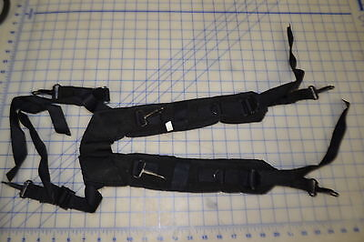 new unused H harness camo black swat reproduction military style 4 pistol belt