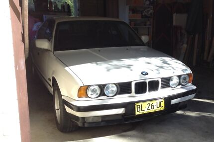 1989 BMW 535i Elanora Heights Pittwater Area Preview