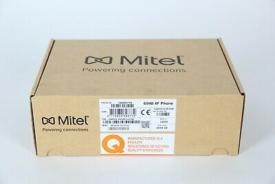 Mitel Mivoice 6940 Ip Phone - Voip Phone With Bluetooth Interface Pn 50006770