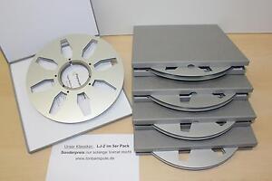 Tonbandspulel , 5er Pack, NAB  f. Revox, Studer, Teac, M15A  -Art-Nr. LJ2 -