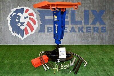 Felix Hydraulic Hammer Breaker 2.09 Tool Fit To 5000 To 10000lbs Mini Excavator