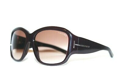 NEW TOM FORD TF48 205 SERENA BURGUNDY BROWN AUTHENTIC SUNGLASSES TF 48 60-16-125